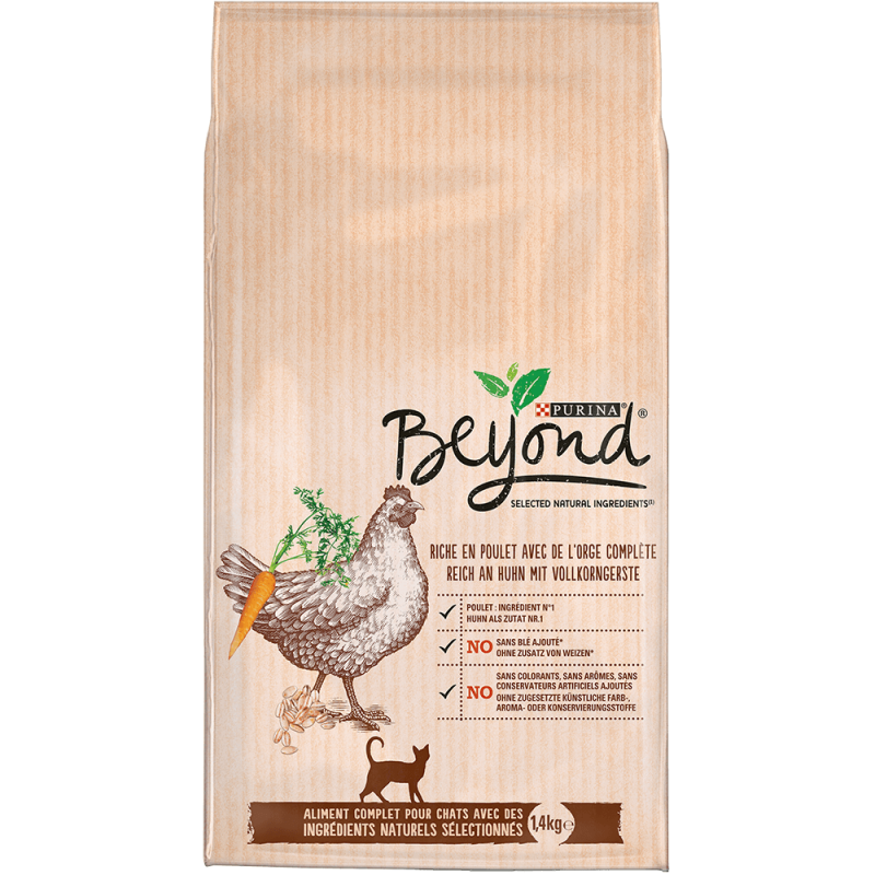 Purina Beyond rich in Chicken with Whole Barley 1.4 kg