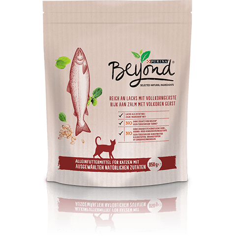 Purina Beyond rich in Salmon with Whole Barley 850 g, 1.4 kg