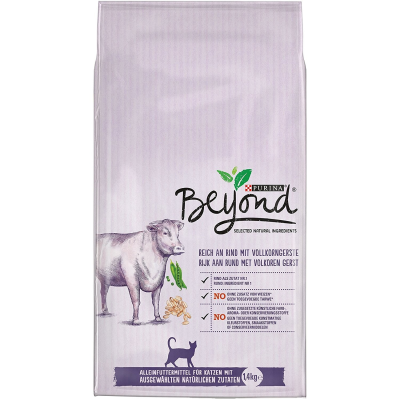 Purina Beyond rich in Beef with Whole Barley 7613036140669 kokemuksia