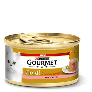 Purina Gourmet Gold Melting Heart - Salmon 85 g