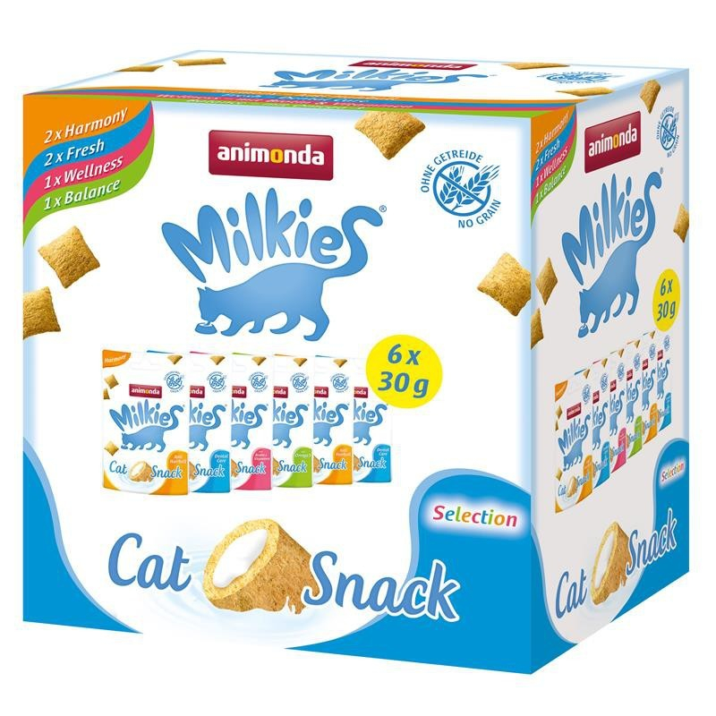 Animonda Cat Snack Milkies Multipack 6x30 g 4017721831215