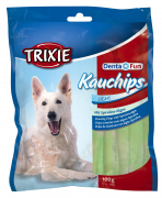 Trixie Denta Fun Chewing Chips with Spirulina Algae 100 g