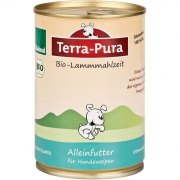 Terra Pura Organic Lamb Meal for Puppy 400 g