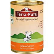 Terra Pura Organic Poultry Meal for Puppy 400 g