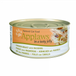 Applaws Natural Cat Food Kip & Makreel in Gelei 70 g