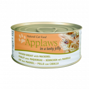 Applaws Natural Cat Food Kana & Makrilli hyytelössä 70 g