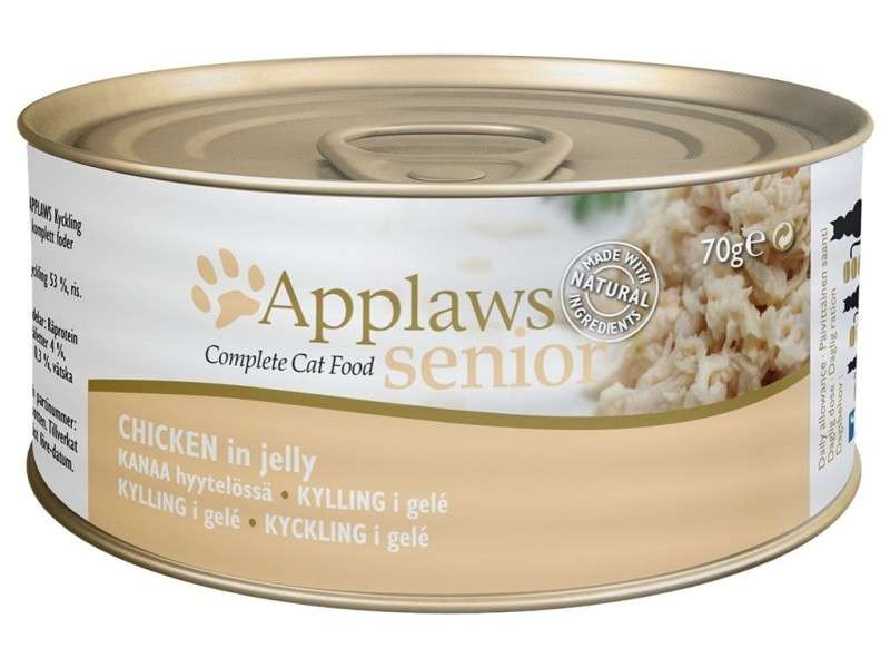 Applaws Senior Complete Cat Food Hühnchen in Gelee 70 g 5060333437213