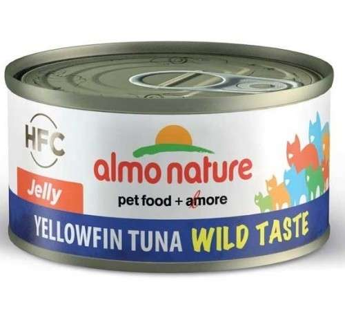 Almo Nature HFC Wild Taste Jelly Yellowfin Tuna 70 g