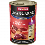 Animonda GranCarno Original Senior Beef & Turkey Hearts 400 g