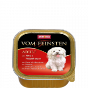 Vom Feinsten Adult Beef + Turkey Hearts 150 g