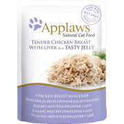Applaws Pouch Natural Cat Food Chicken Breast with Liver in Jelly 70 g
