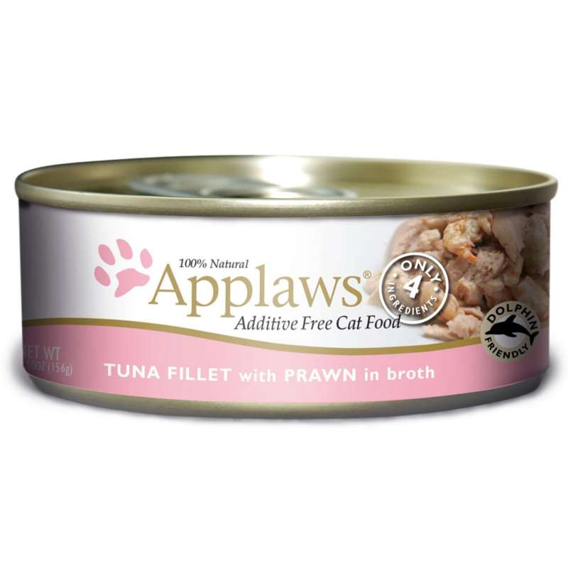 Applaws Natural Cat Food Tonnikala & Katkarapu 156 g