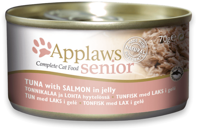 Applaws Senior Complete Cat Food Thunfisch mit Lachs in Gelee 70 g