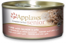 Senior Complete Cat Food Tonfisk med lax i gelé 70 g