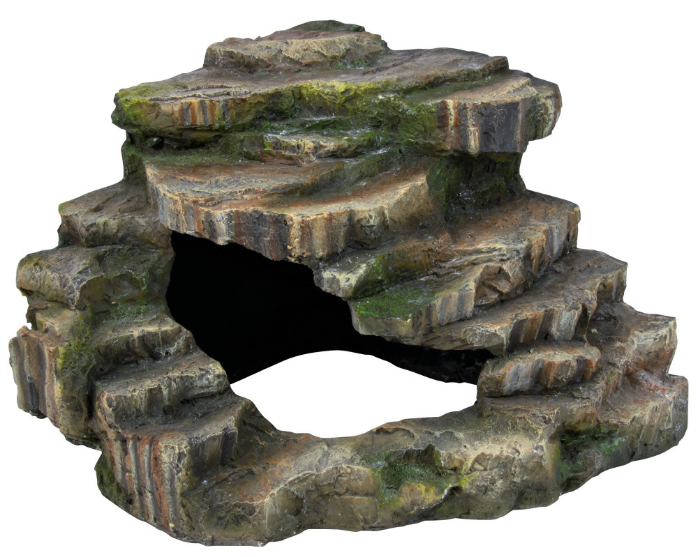 Trixie Corner Rock with Cave and Platform  26x20x26 cm