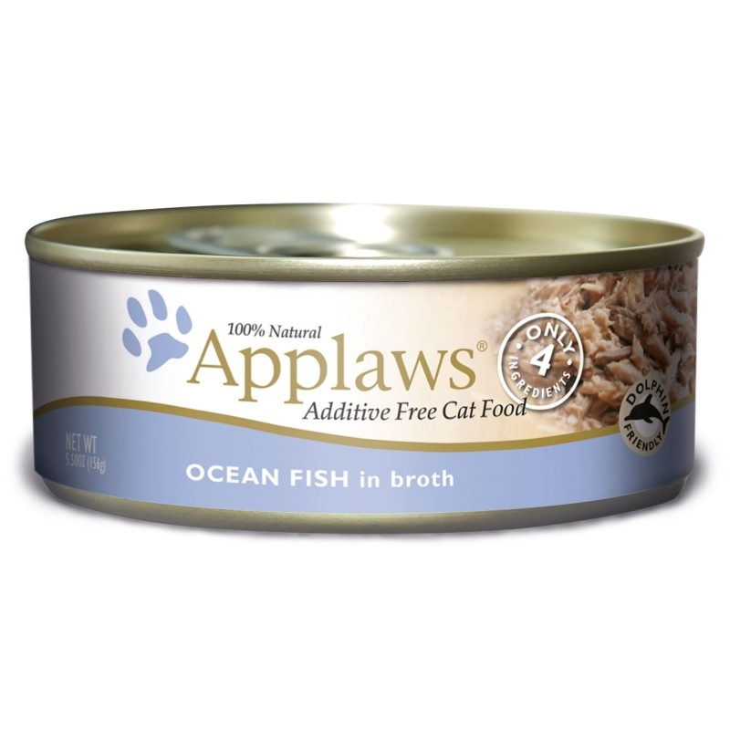Applaws Natural Cat Food Zoutwatervis 70 g, 156 g test