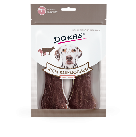 Dokas Chew Bone with Lamb 10 cm