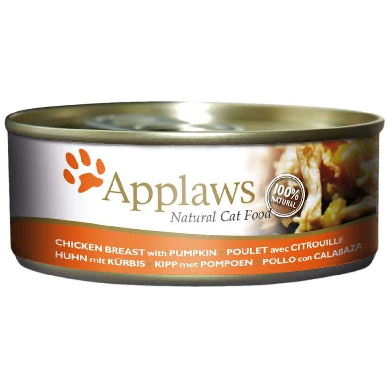 Applaws Natural Cat Food Hühnchenbrust mit Kürbis 156 g