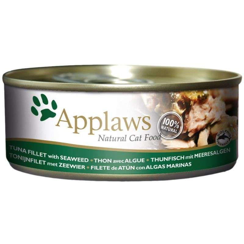 Applaws Natural Cat Food Tuna and Seaweed 156 g