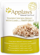 Applaws Pouch Natural Cat Food Chicken Breast with Lamb in Jelly 70 g