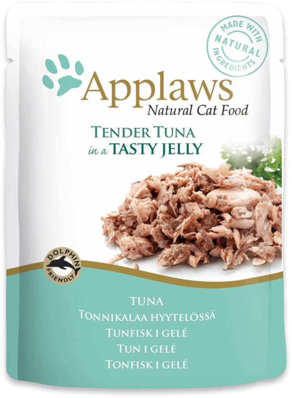 Applaws Frisk taske Natural Cat Food Tun i gele 70 g test