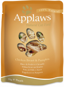 Pouch Natural Cat Food Chicken Breast & Pumpkin in Broth 70 g