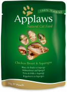 Applaws Pouch Natural Cat Food Chicken Breast & Asparagus in Broth 70 g