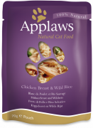 Applaws Pouch Natural Cat Food Chicken Breast & Wild Rice in Broth 70 g