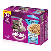 Whiskas 7+ Casserole Fish Selection in Jelly