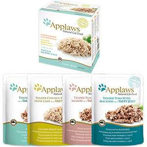 Applaws Natural Cat Food Mixed Variety Jelly Pouch Multipack 12x70 g test