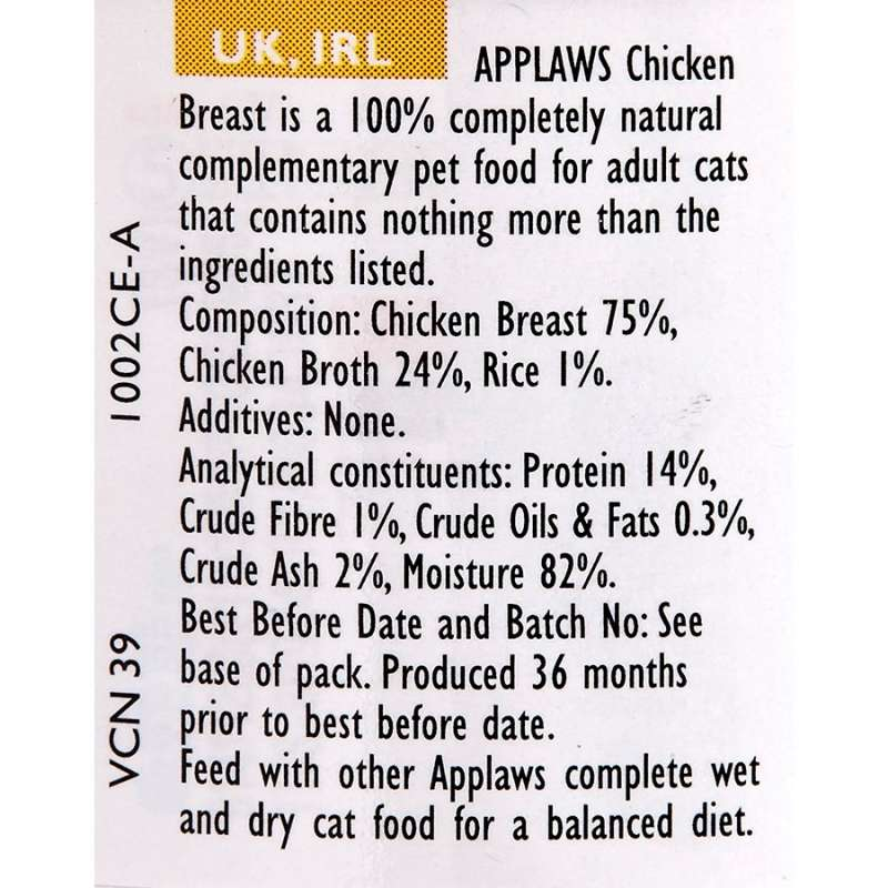 Applaws Natural Cat Food Kippenborst 70 g
