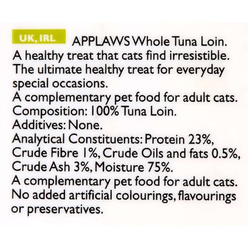 Applaws Natural Cat Treat - Filet de Thon 30 g