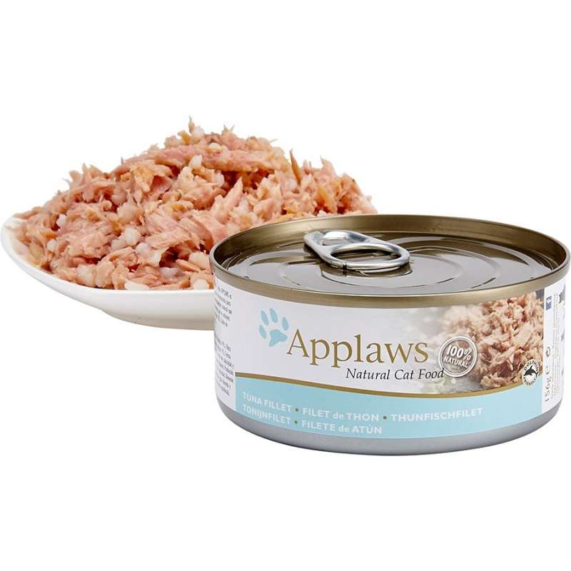 Applaws Natural Cat Food Tun fillet 70 g, 156 g test