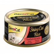 GimCat ShinyCat Filet Atún + Salmón 70 g
