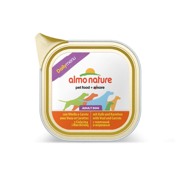 Almo Nature DailyMenu Adult Dog Veau & Carottes 100 g, 300 g