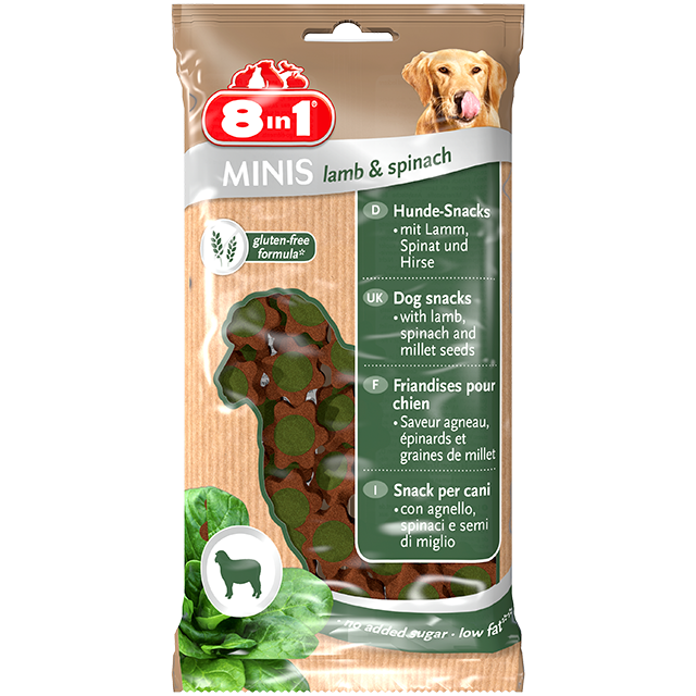 8in1 Minis Lamb & Spinach 100 g