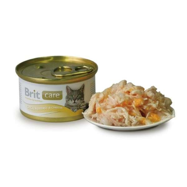 Brit Care Cat Chicken Breast & Cheese 80 g test