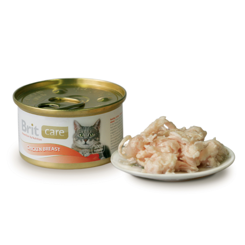 Brit Care Cat Chicken Breast 80 g kjøp billig med rabatt