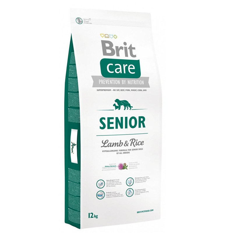 Brit Care Senior Lammasta & Riisiä 12 kg