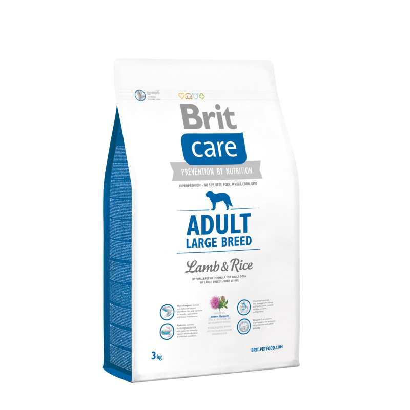 Brit Care Adult Large Breed with Lamb & Rice 3 kg