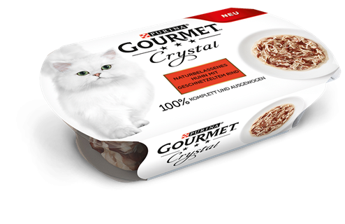 Purina Gourmet Crystal Natural Chicken & Beef 50 g