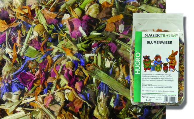 Hugro Rodent Dream Flower Meadow 130 g 4017169112228
