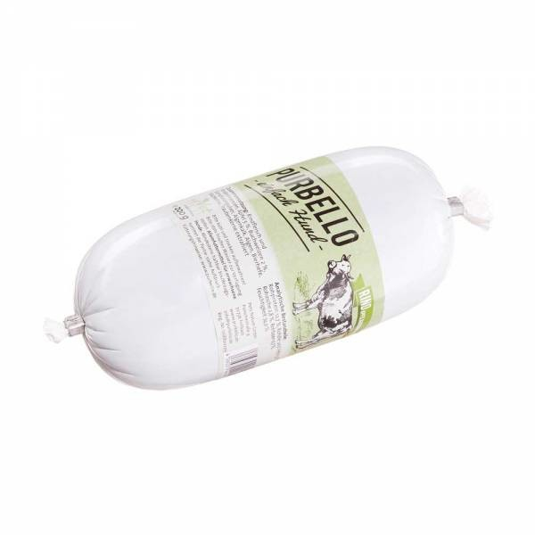 PURBELLO Dog Sausage - Beef with Apples & Buckwheat 800 g, 400 g, 200 g