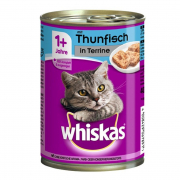 Whiskas 1+ Terrine mit Thunfisch 400 g Art.-Nr.: 11447