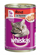 Whiskas 1+ Mazno in Patè - EAN: 4008429031694