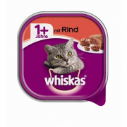 Shell Adult 1+ with Beef 100 g fra Whiskas