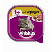 Conchiglia Adult 1+ con Pollame 100 g di Whiskas