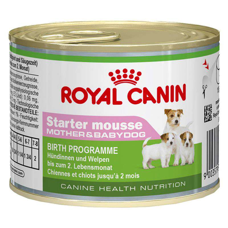 Royal Canin Canine Health Nutrition, Tin Starter Mousse 195 g
