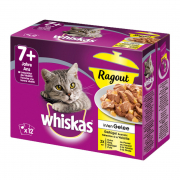 Casserole Poultry Selection in Jelly 7+ 12x85 g van Whiskas