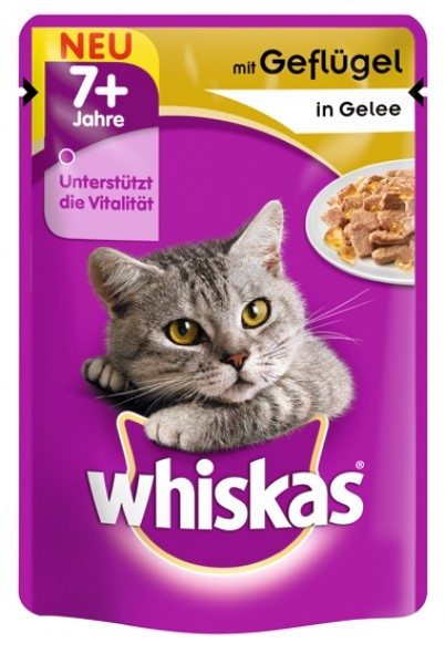 Whiskas 7+ Poultry in Jelly 100 g